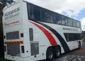 Robbies Double Decker Bus - New Zealand Tours