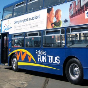 Robbies Dounle Decker Travel - Corporate Branding
